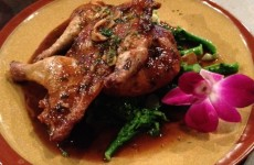 New Cornish Hen at Cave Inn BBQ