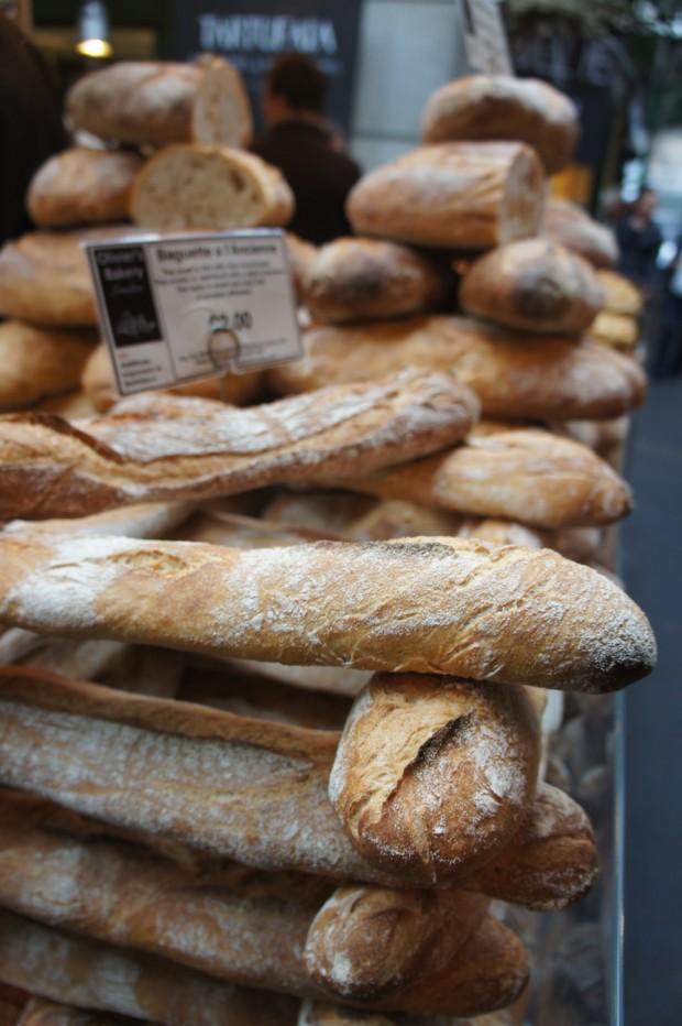 Bread jenga