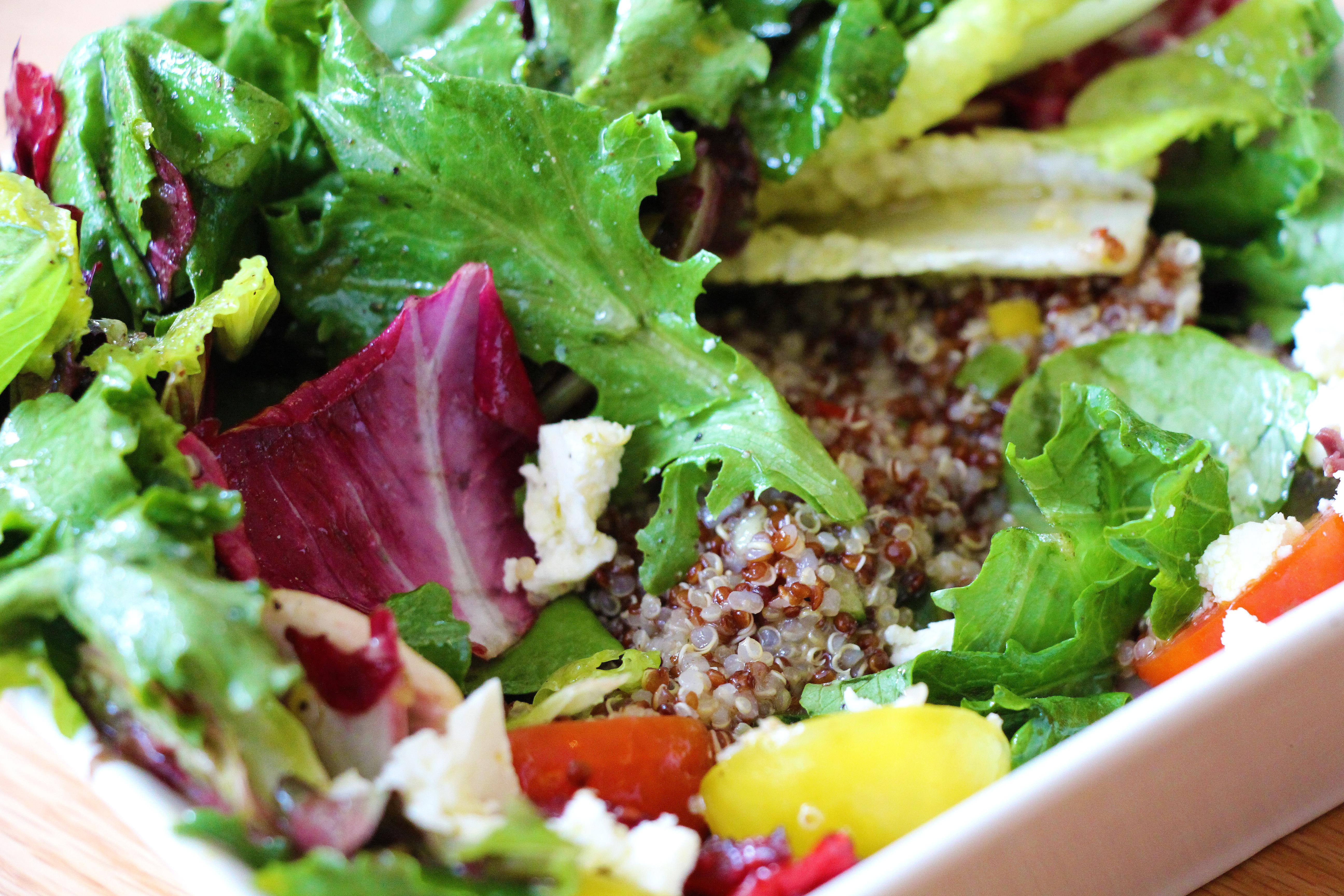 kasa tapas and raw bar u2013 quinoa greek salad tasty chomps