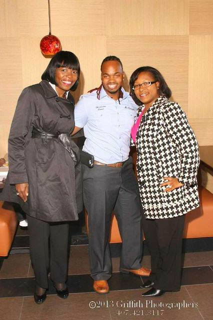 Mr. McKnight and Commissioner Tiffany Moore Russell and Roberta Walton - Courtesy of their Facebook page