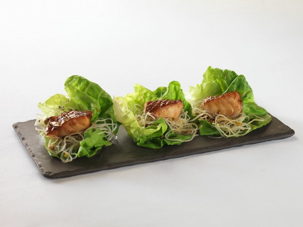 Misoyaki Butterfish Lettuce Wraps