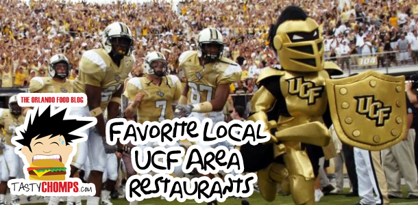 TastyChomps' Guide to Favorite Local UCF Area Restaurants