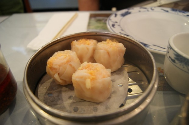 Pork Siu Mai dumplings at Lam's Garden