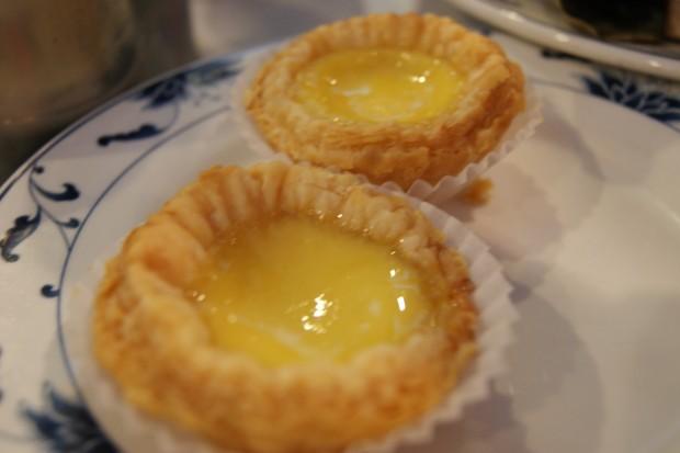 Egg custard tarts for dessert