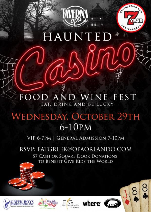 Opa Casino Anniversary Invite