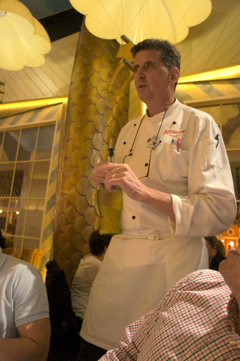 Chef Tim Keating of The Flying Fish Cafe