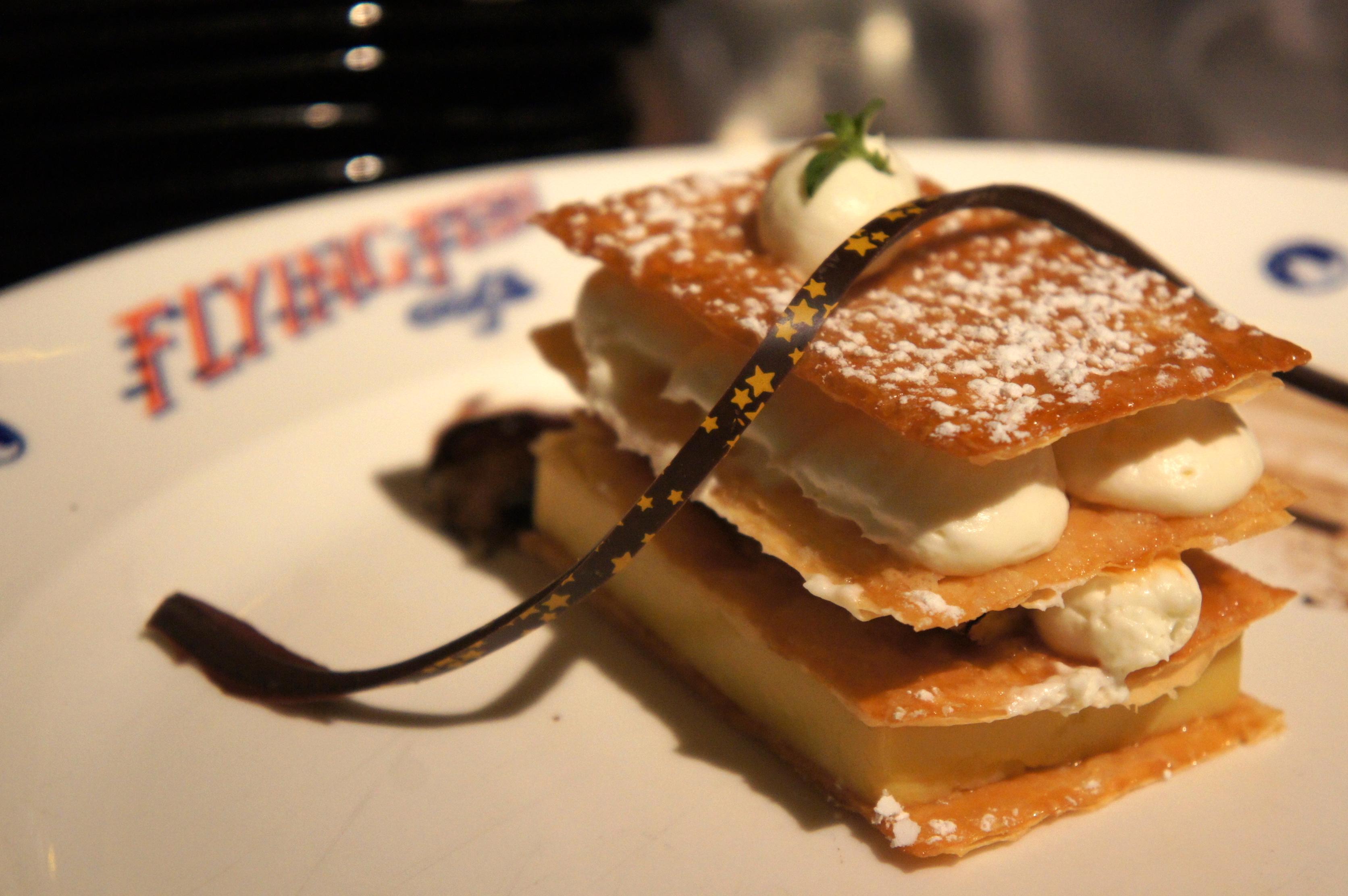 Recipe Caramelized Banana Napoleon At Flying Fish Cafe Disneys