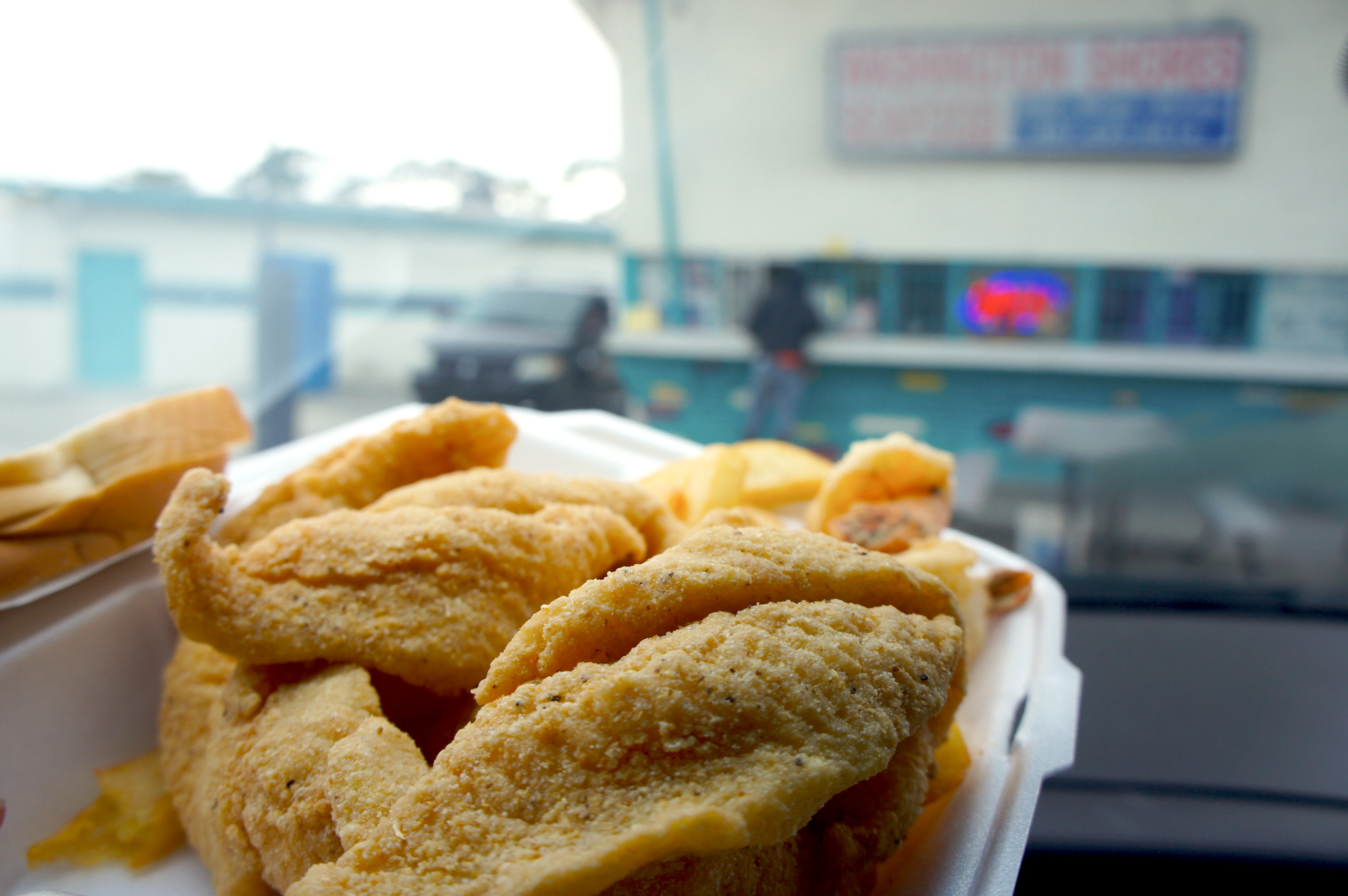 Washington shores fish market fresh hot fried fish for Fish and seafood