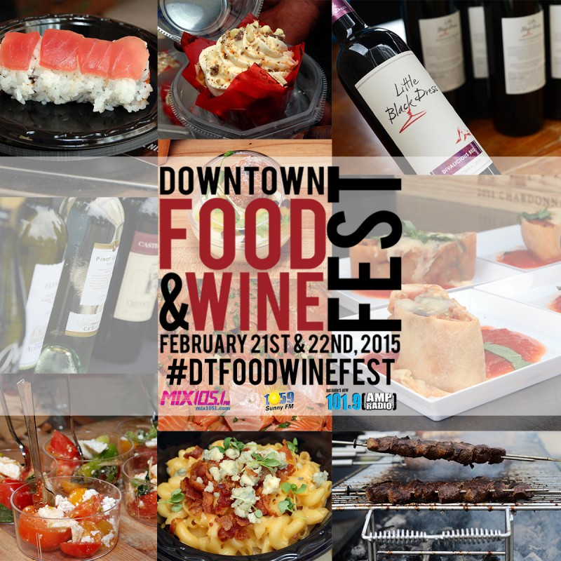 Downtown Food & Wine Fest 2015 1200 x 1200