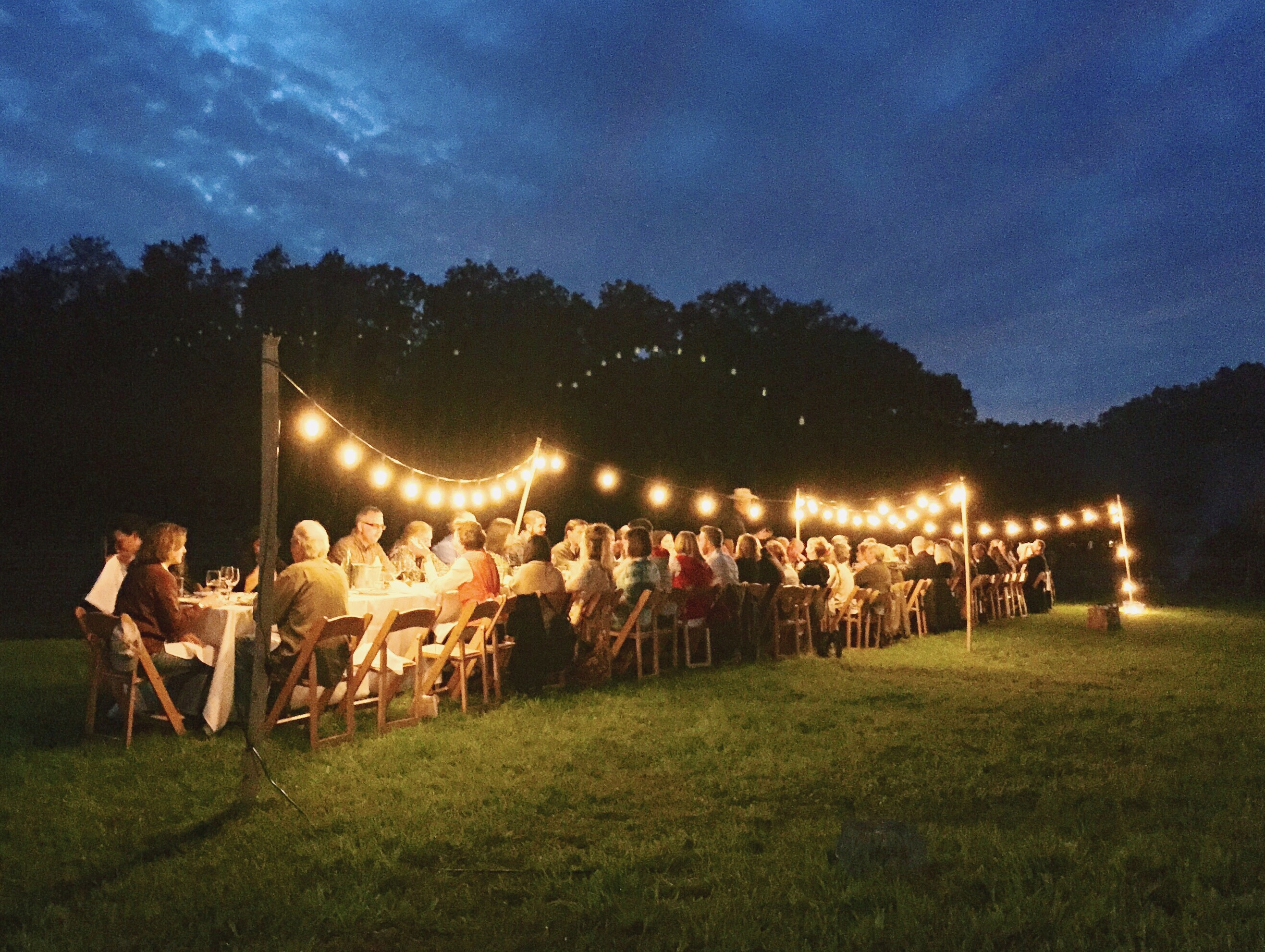 Outstanding in the Field – Farm Dinner at Lake Meadow Naturals ...