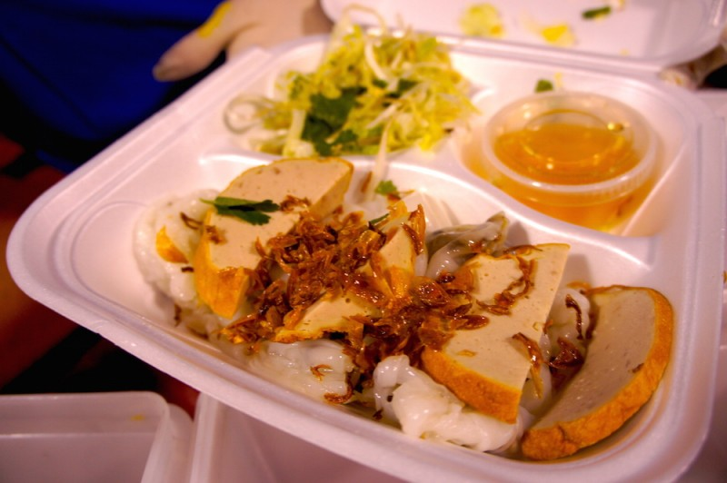 Banh Cuon rice crepes