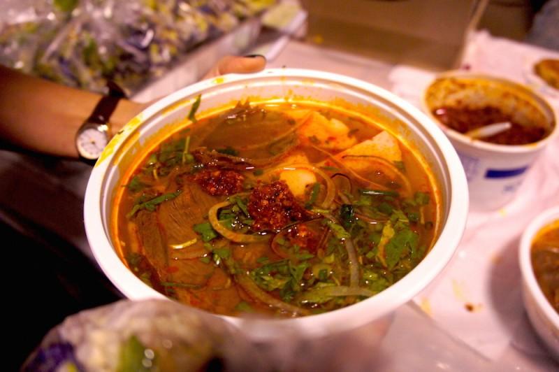 Bun Bo Hue Spicy Beef Noodle soup