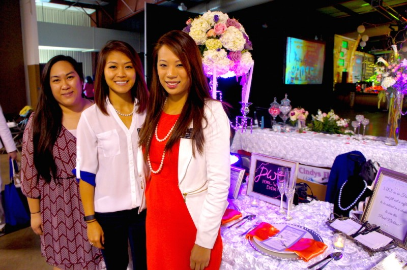 Pearl White Events, a local wedding planning business, markets their services