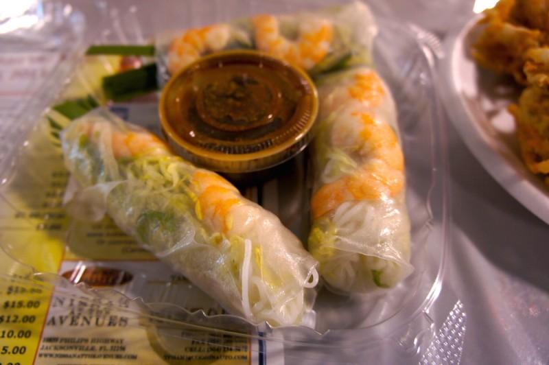 Goi cuon, summer rolls
