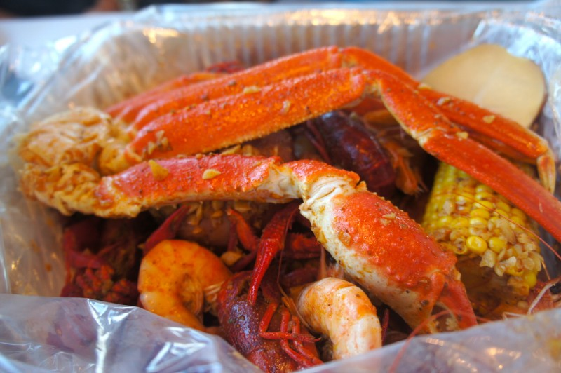 Seafood combo special