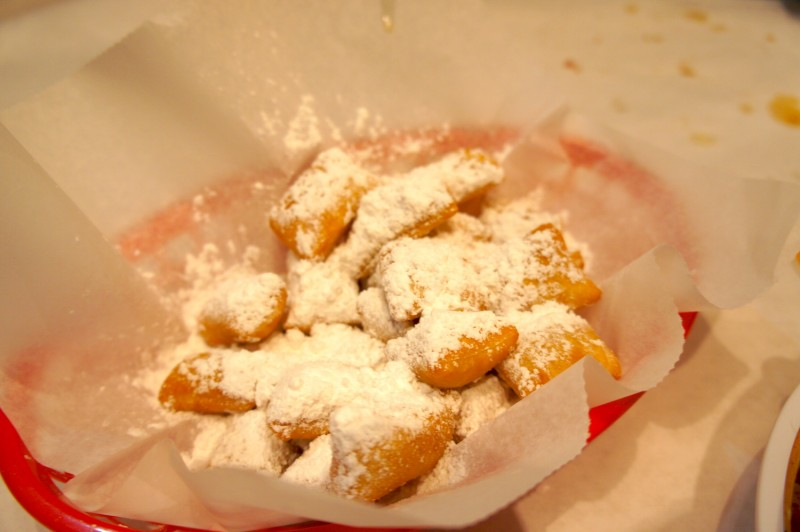 Fried Beignet Donuts