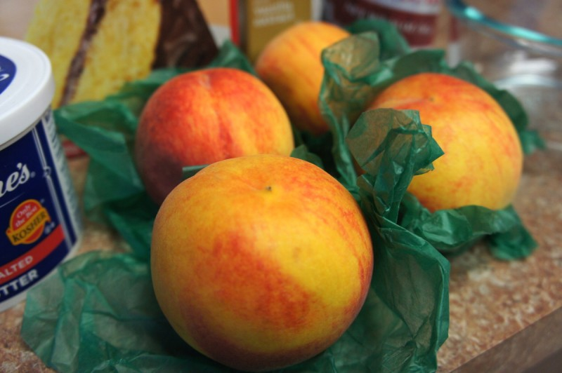 Ripe Georgia Peaches
