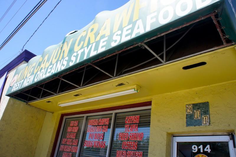 King Cajun Crawfish of Orlando on Mills Ave