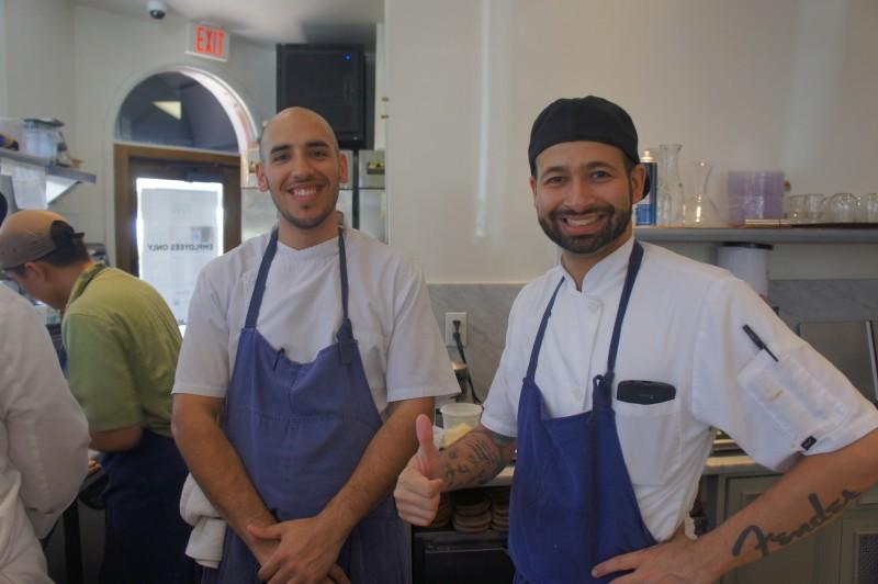 Executive Chef Camilo Velasco of Barnie's CoffeeKitchen