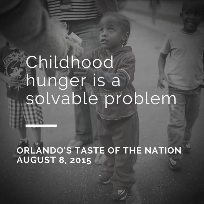 Childhood Hunger is a solvable problem