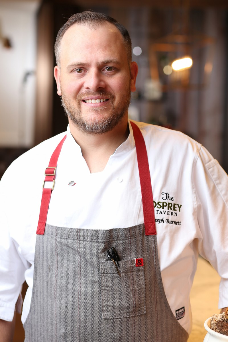 The Osprey Tavern Joseph Cournoyer-Burnett Executive Chef