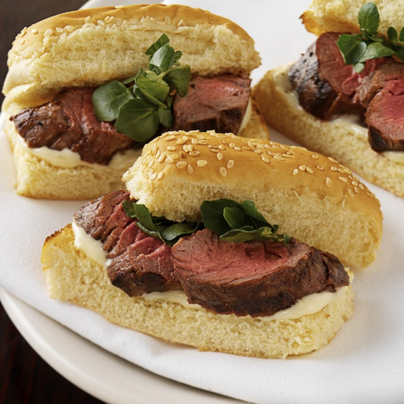 Petite Filet Mignon Sandwiches