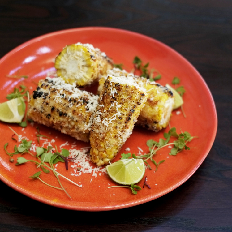 mexican corn 9 grilled corn cayenne pepper lime cotija queso