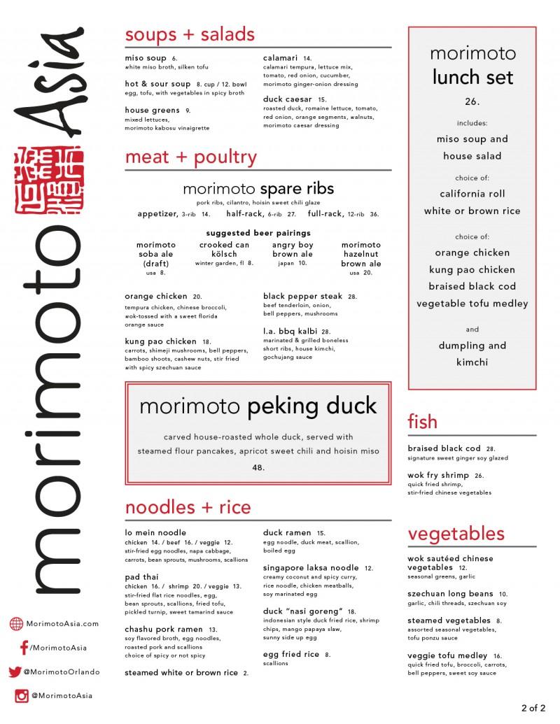 Morimoto Lunch - OCT 2015