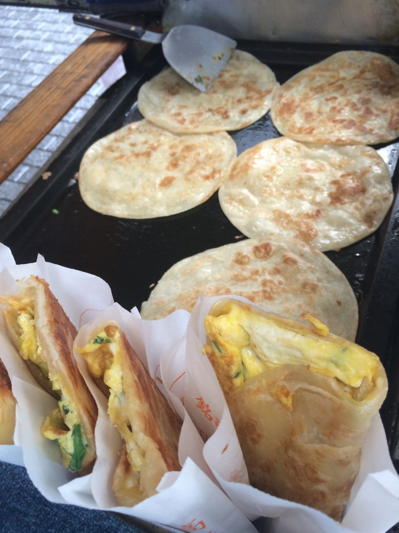 Beef Scallion Breakfast Crepes - Niu Rou Jian Bing2