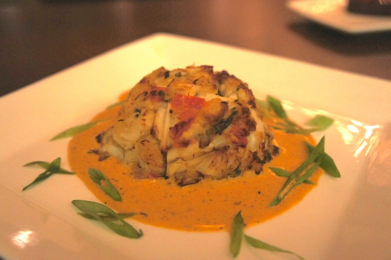 Crab Cake with Cajun Lobster Sauce - $19