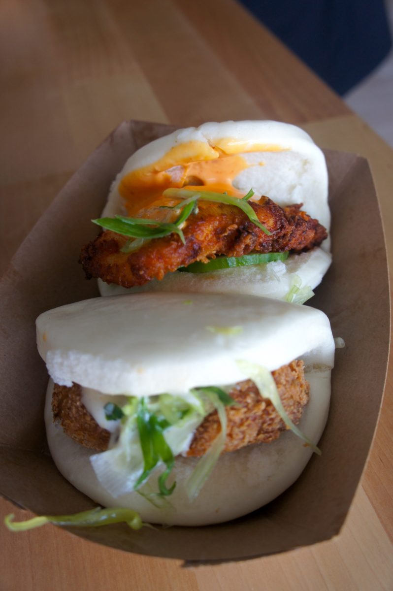 Kickin Chicken Bao