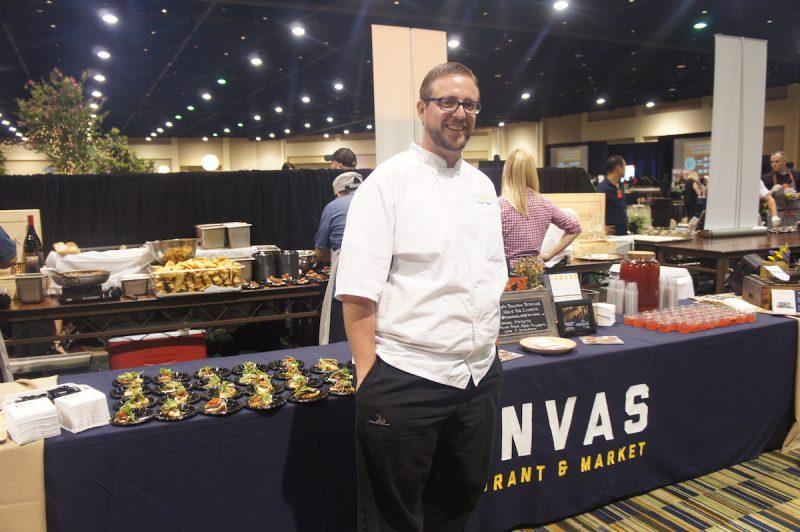 Chef Bryan Thoman of Canvas Restaurant