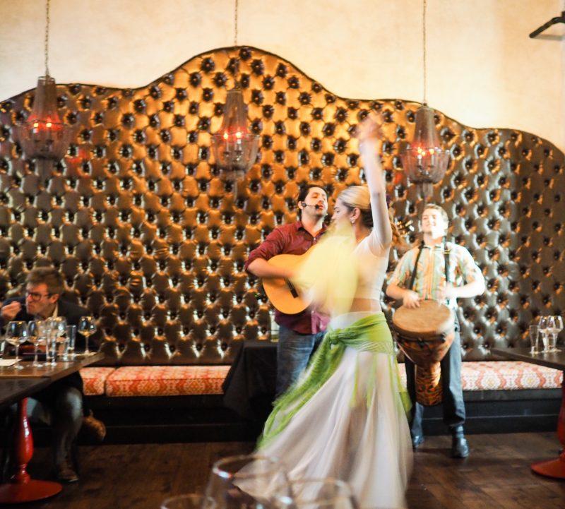 Flamenco Dancing Tapa Toro