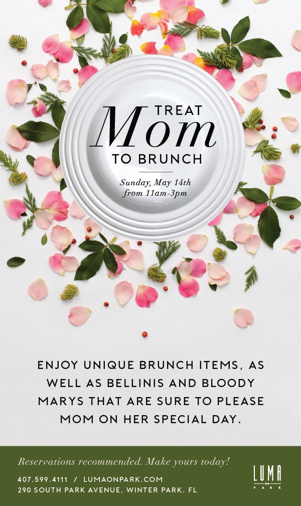Mother\'s Day Brunch in Orlando 2017 | Tasty Chomps\' Orlando Food Blog