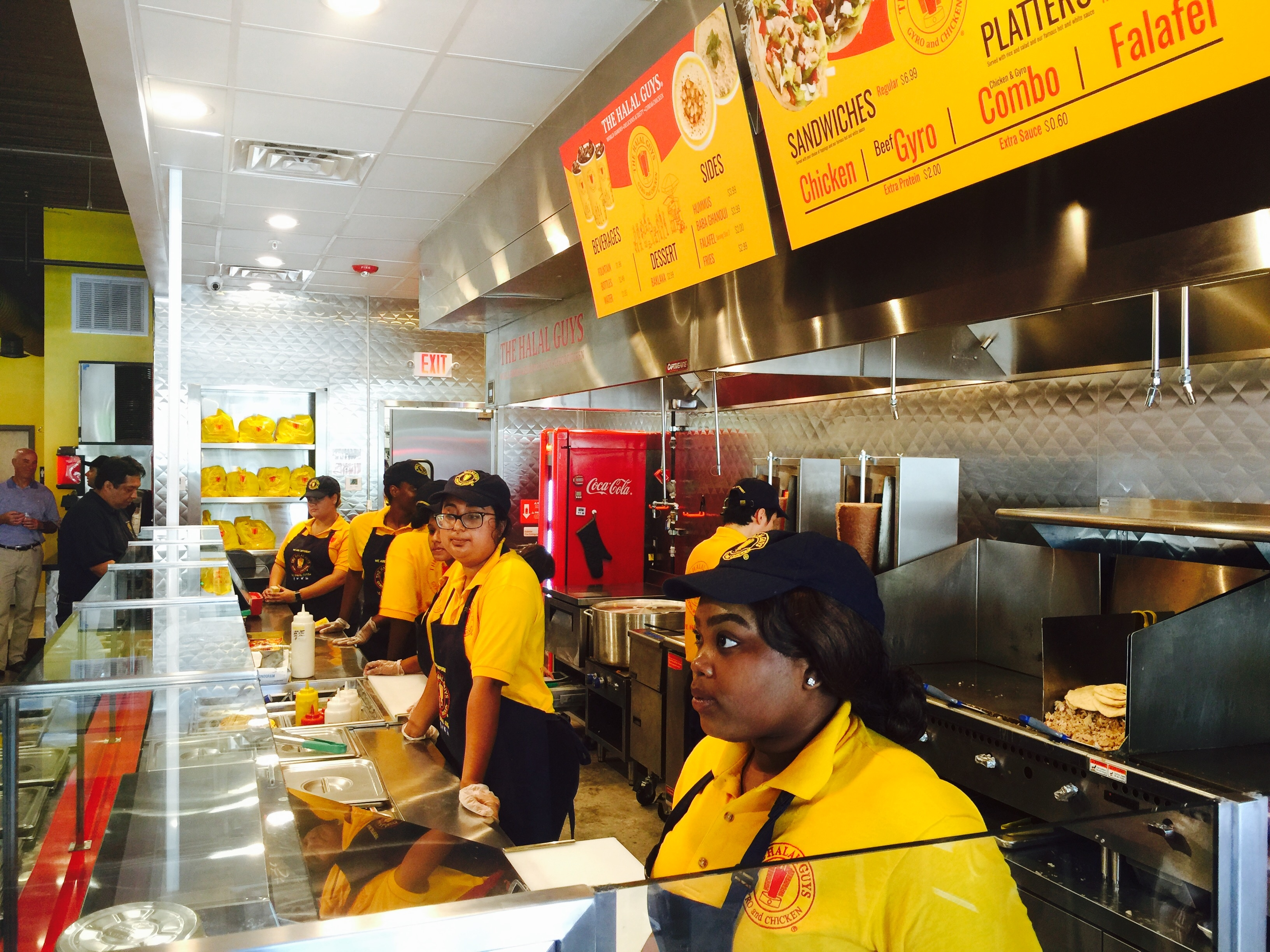 The Halal Guys Is A Middle Eastern Fast Casual Restaurant That Began As Food Cart In 1990 On South East Corner Of 53rd Street And Sixth Avenue