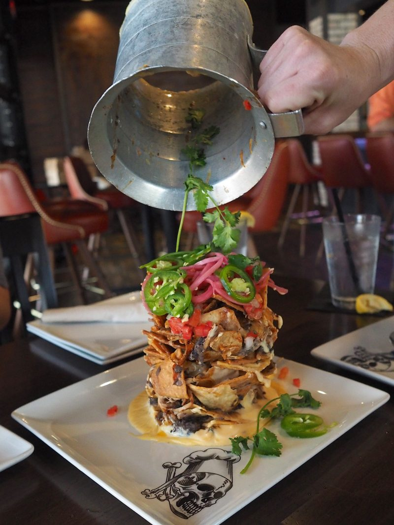 Guy Fieri S Vegas Kitchen And Bar Trash Can Nachos