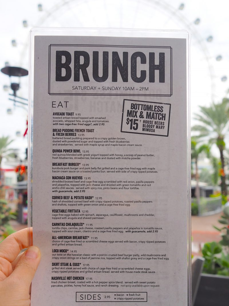 First Look Brunch At Yard House Tasty Chomps A Local S Culinary