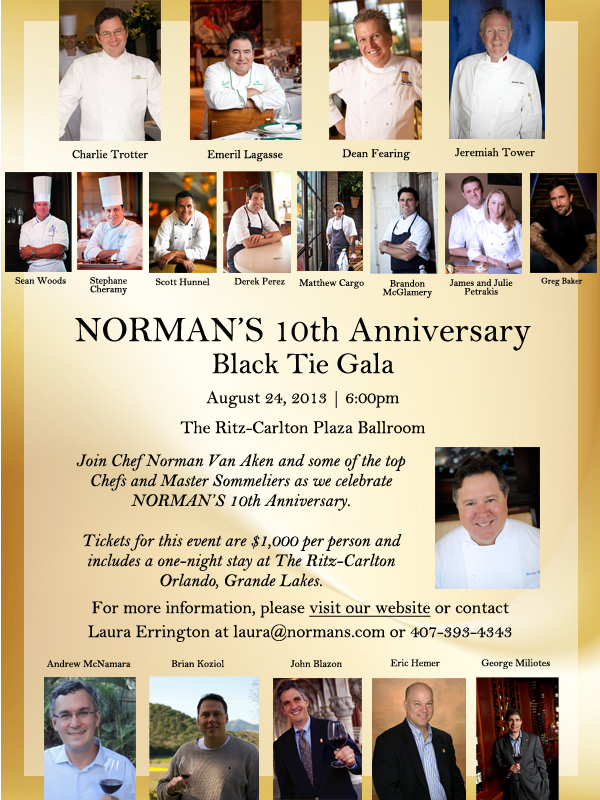 Normans - Anniversary Email May 2013