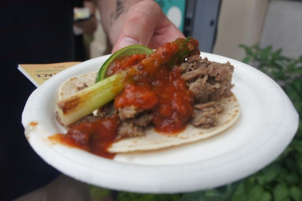Mexico's Taco de Ribeye with Salsa de Chipotle