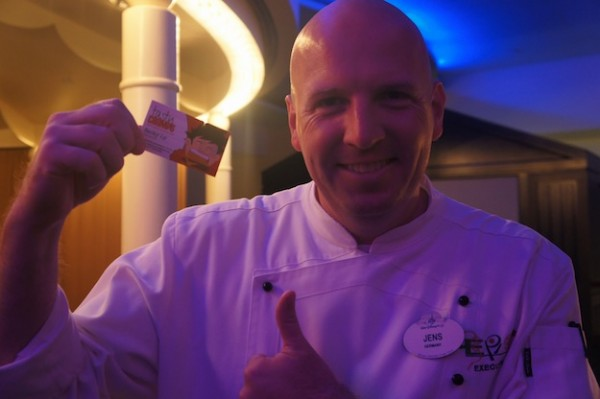 Epcot's Chef Jens is TastyChomps approved!