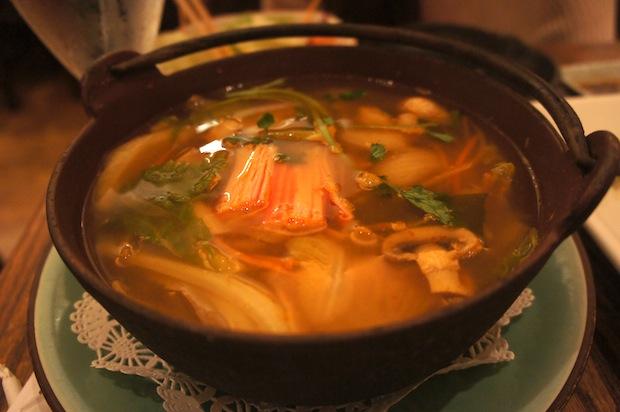 Seafood Miso Pot - $10.00