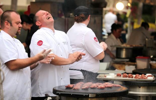 Chefs Enjoy Downtown Food & Wine Fest 2014