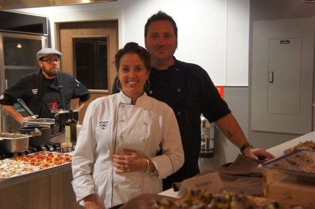 The Owners, Chef Henry and Michelle Salgado