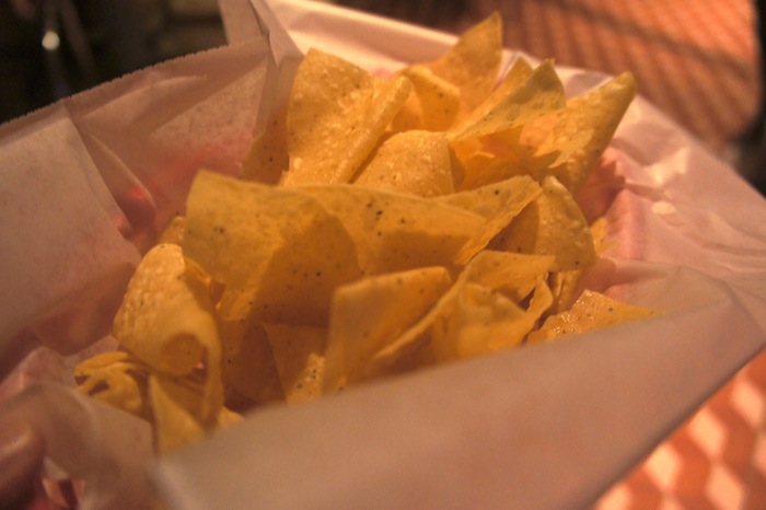 Nachos, freshly made, light, thin and crispy - some of the best nachos in Orlando