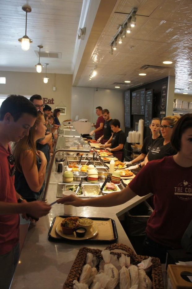 Assembly line / Fast Casual concept