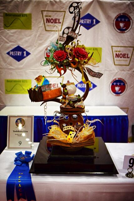 """""""Beauty and the Beast"""" - 1st Place at the US Pastry Competition"""