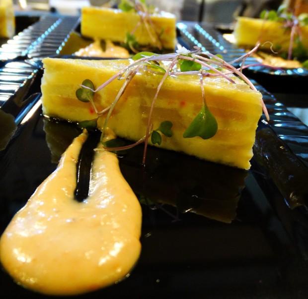 Basque Kitchen offers slices of tortilla espanola
