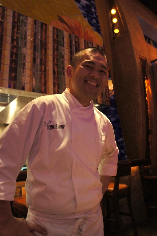 Emeril's Tchoup-chop Chef de cuisine Ryan Vargas