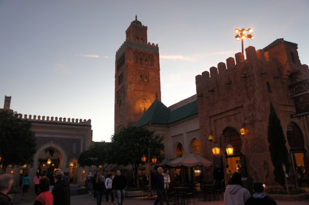 Morocco Pavilion at Epcot's World Showcase