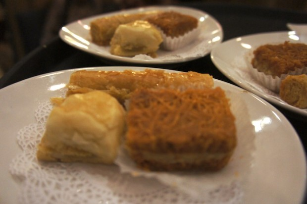 Assorted Baklavas for Dessert